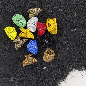 Anello artigianale Elongo colori assortiti