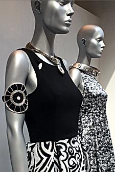 Bracciale artigianale Elongo Richmond nero/argento