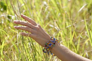 Bracciale fatto a mano Emonyorit colori masai