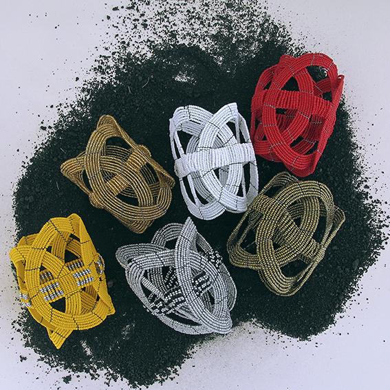 bracciale africano Ukuti Ukuti colori vari