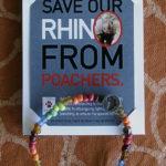 Bracciale a tutela del Rinoceronte - Cetacea Service