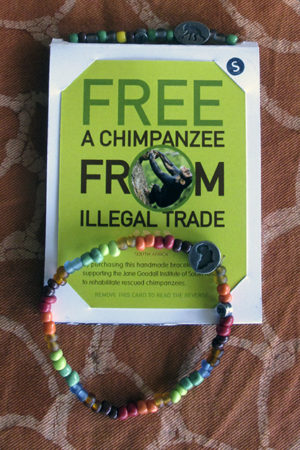 Bracciale a tutela degli Scimpanzé - Cetacea Service