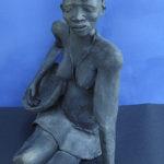 Donna shona con cesto - Autore Tendai Dlamini