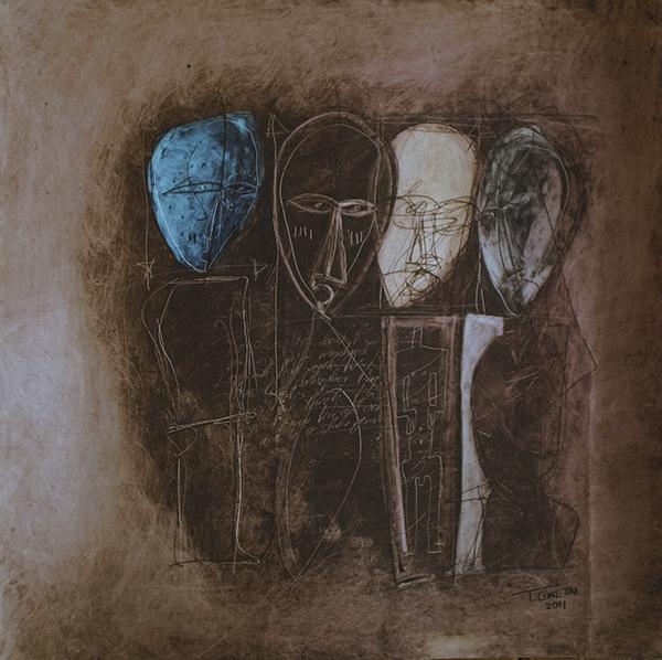 state of mind - Tafadzwa Gwetai - cm 64X64