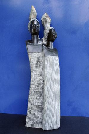 principesse Shona - arte africana
